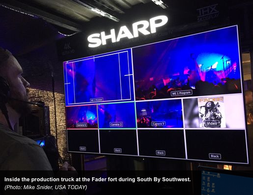 Sharp Electronics Lead the 4K Revolution at SXSW 2015
